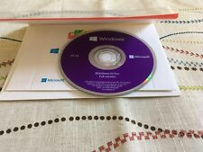 MICROSOFT WINDOWS 10 PROFESSIONAL PRO OEM 64 BIT [DVD + license][Sealed]