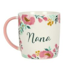 Floral 'Nana' Mug, Blossom & Bee Collection, Cute Grandparent Present