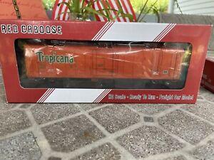 Tropicana Refrigerated Car Red Caboose No.2020