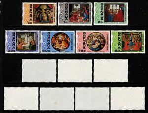 Grenada 1976 set.Christmas.SG.841-7.
