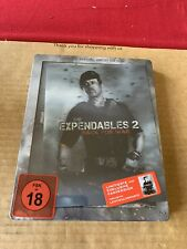 Expendables 2 Uncut Lenticular Blu Ray Steelbook NEW & SEALED Import