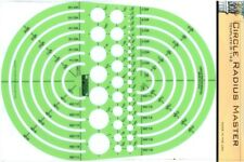 Berol Rapidesign Template - Circle Radius Master - R-142