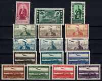 G139059/ FRENCH SYRIA – YEARS 1940 - 1942 MINT MNH / MH SEMI MODERN LOT