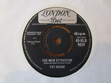 "PAT BOONE RARE 7"" THE MAIN ATTRACTION 60'S"