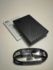 WD 5TB My Passport Portable External Hard Drive HDD USB 3.0 - Black - BRAND NEW