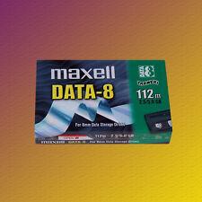 lot de 2 Maxell Data - 8, 112 M 2,5/5,0 Go Data Cartridge, Données cassette,