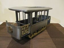 New listing Metal/Plastic Caboose Liquor Cady with Music Box, Fred Roberts Co., Japan (1pc)