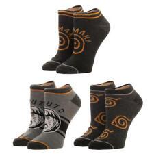 Naruto Ankle Socks, 3-Pack, 9-11