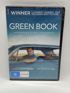 Green Book DVD Region 4 NEW & SEALED