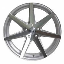 "4-New 20"" Rohana RC7 Wheels 20x9 5x114.3 42 Silver Rims"