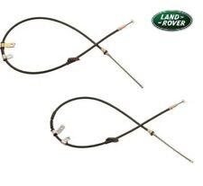 LAND ROVER FREELANDER 1 HAND BRAKE CABLES PAIR RHS & LHS <2001 SPB101301/311