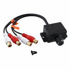Xtenzi Bass Boost Knob Gain Remote Line Level Control Car Audio Amplifier new