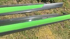 MG ZR MK2 Rover 25 200 Streetwise Facelift Side Skirts XPower Grey & Lime Green