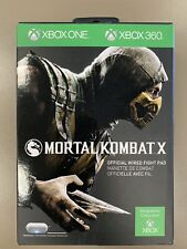 Official PDP Microsoft Wired Fight Pad Mortal Kombat X for Xbox 360 and Xbox One