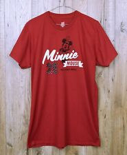 RETRO HANES DISNEY T SHIRT SIZE L RED MINNIE MOUSE SHORT SLEEVE RETRO OFFICIAL