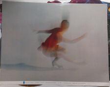 GERMAN ART PRINT - OLYMPIC 1972 - IMPRESSIONS - FIGURESKATING * ART POSTER
