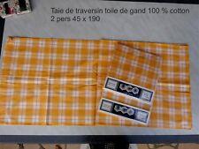 Tartan Parure de couette double 100/% Coton Brossé flanelette Duck Egg Le Moins Cher Sur