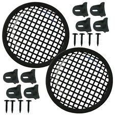 """Speaker Grill, 4 each, 61/8"""" Round-shape includes clamps and hardware"""