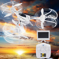CX-33S 2.4G 4CH 6-axis Gyro RC Tricopter FPV LED Light & Camera Drone