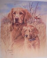 """The Legacy - Golden Retrievers by Jim Killen, Limited Edition,14 1/2"""" x 17 1/2"""""""