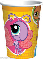 LITTLEST PET SHOP 9oz PAPER CUPS (8) ~ Birthday Party Supplies Beverage Drinking
