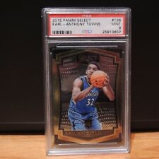 2015 Karl Anthony Towns Rookie Card Panini Select Premiere PSA 9 MINT