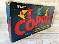 Vintage Coppit Board Game Spears 1964 100% Complete Original