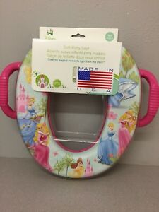 Ginsey 49150 Disney Princess Round Soft Child's Toilet Seat