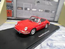 PORSCHE 901 911 Cabriolet Cabrio Karmann red rot Resin HQ Autocult 1:43