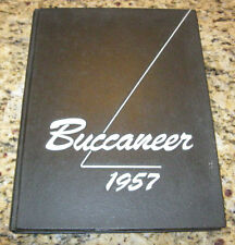 1957 East Carolina College Buccaneer Greenville North Carolina Yearbook