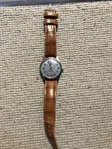 A vintage Swiss Gents Fortis 17 jewels manual wind wristwatch – Working