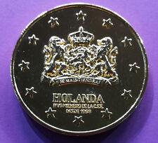 Médaille de table sur l'Europe des 12 (Pays-Bas)