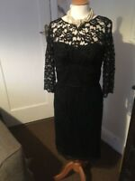 marks and spencer dress size 12 Black Lace