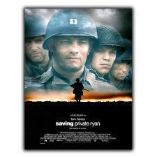 Ahorro privado Ryan Steven Spielberg Letrero de Metal Placa De Pared Película cartel impresión