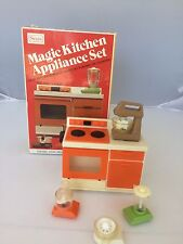 Sears Vintage Toy Appliances w Box Magic Kitchen Appliance Set