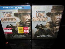 Target Exclusive Steelbook Lone Survivor Blu-ray DVD 2014 2-Disc Set + DC