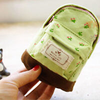 1PC Mini Backpack Flower Coin Bag Wallet Hand Pouch Purse Key Chain Gift