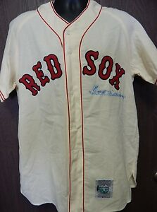 Ted Williams Boston Red Sox Signed Cooperstown Jersey Upper Deck Authenticated