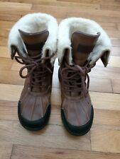 UGG Australia Women's Shoes Waterproof Adirondack Snow Boots Size 4