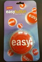 Staples Talking That was EASY Button Batteries Included NEW