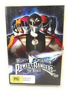 Mighty Morphin Power Rangers: The Movie (DVD, 1995) Jason David Frank Region 4