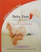 Baby Foot Exfoliant Peel, Lavender Scented   Sealed Original Box