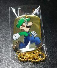 2015 enter play gold version of Luigi dog tag rare vhtf