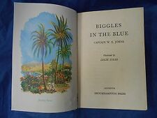 BIGGLES IN THE BLUE Captain W. E. Johns 1953 1st edition Hardback vintage