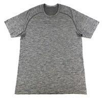 Lululemon Metal Vent Tech Short Sleeve Performance Shirt Mens Medium Gray