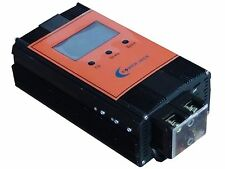 "2400w smart solar controller DC12V/24V, MPPT,100AMP, solar panel/3.5""LCD display"