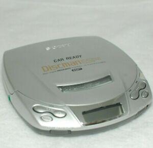 Sony D-E206CK Discman CD Player ESP2 Walkman Portable Silver Working
