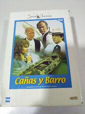 CAÑAS Y BARRO Caja 3 x DVD BLASCO IBAÑEZ Español Ingles NUEVO