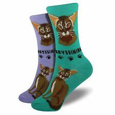 Abyssinian Cat Socks