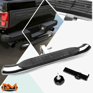 "37""x 4"" Oval 2"" Receiver Stainless Steel Trailer Towing Tailgate Hitch Step Bar"